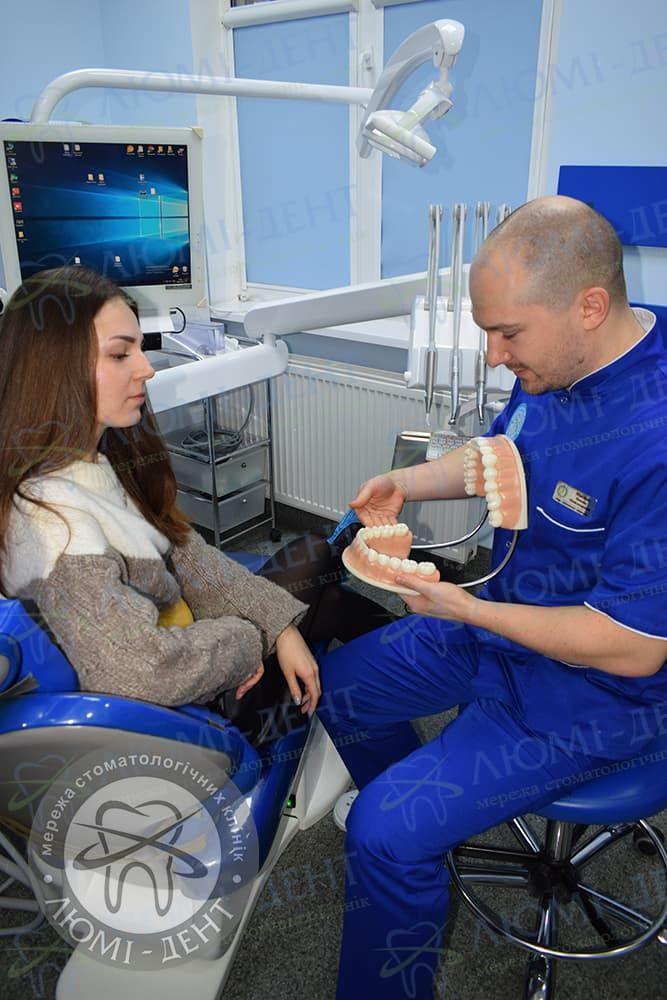 Болять зуби від гарячого і холодного фото ЛюміДент
