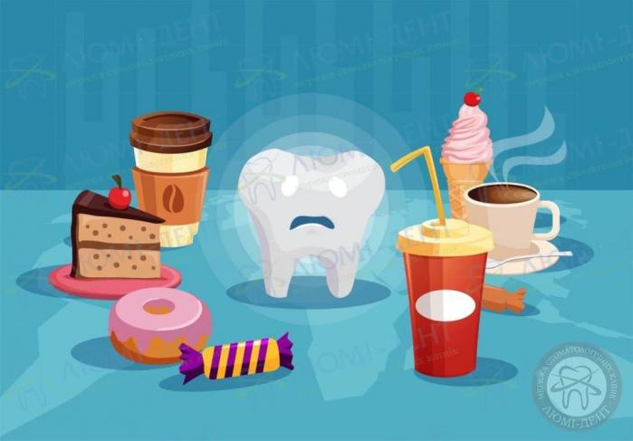 После сладкого болит зуб фото ЛюмиДент