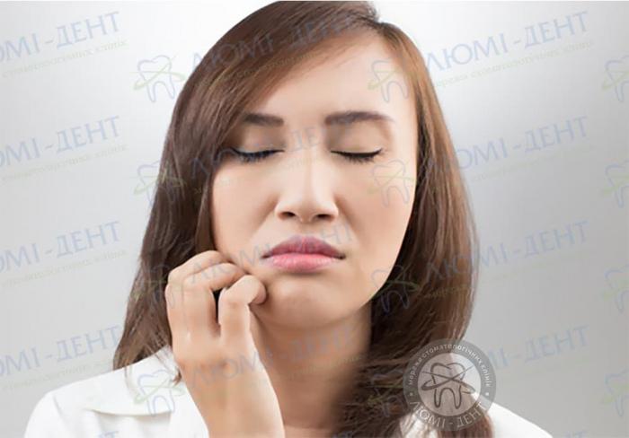 Чому сверблять зуби фото ЛюміДент