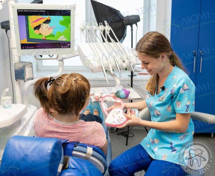 первый визит к детскому стоматологу фото ЛюмиДент