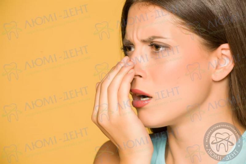 Неприятный запах изо рта фото Люми-Дент