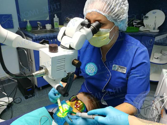 Гранулема зуба лікування Київ фото Люмі-Дент