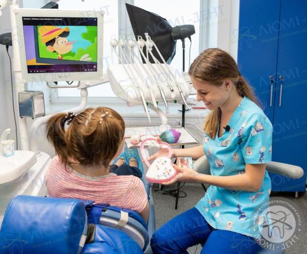pediatric dentist kiev solomensky district photo LumiDent