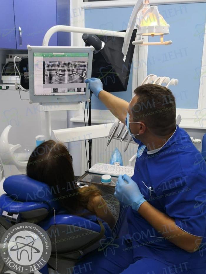 Опухла щока від зуба фото ЛюміДент