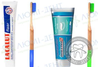 Види зубних паст фото Люмі-Дент