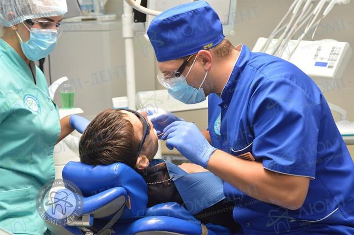Периімплантит лікування фото ЛюміДент