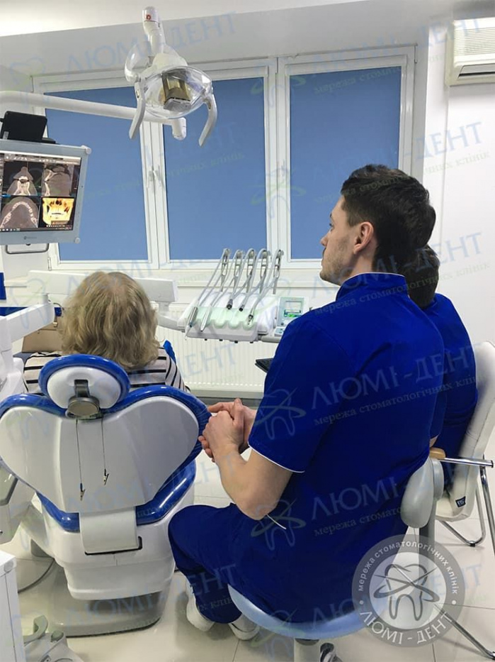 Протезирование зубов это фото ЛюмиДент