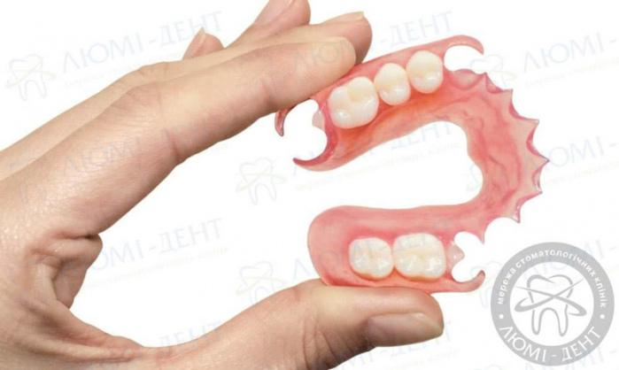 акриловые зубные протезы фото ЛюмиДент