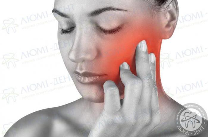 біль в щелепі фото ЛюміДент