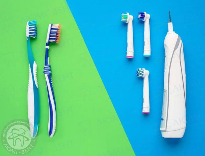 дитяча електрична зубна щітка фото ЛюміДент