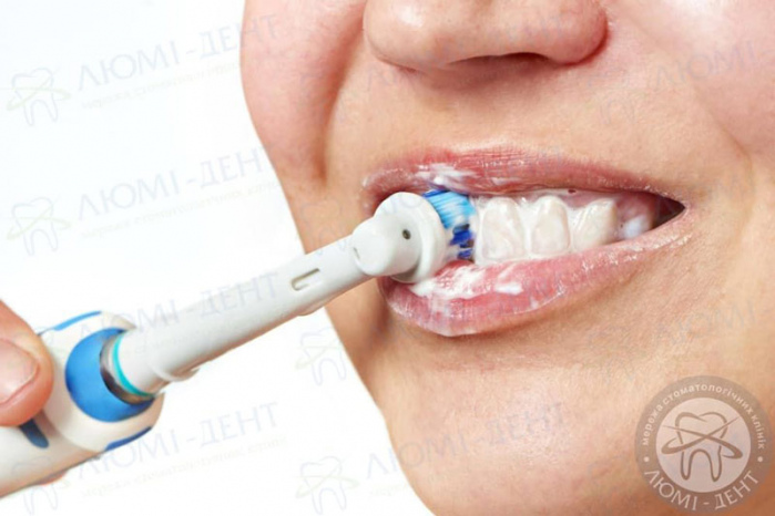 електрична зубна щітка для дітей фото ЛюміДент
