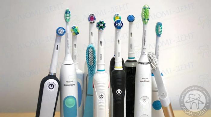 яку вибрати електричну зубну щітку фото ЛюміДент