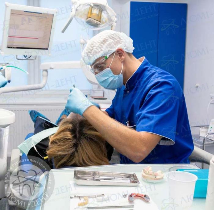 несъемные зубные протезы отзывы фото ЛюмиДент