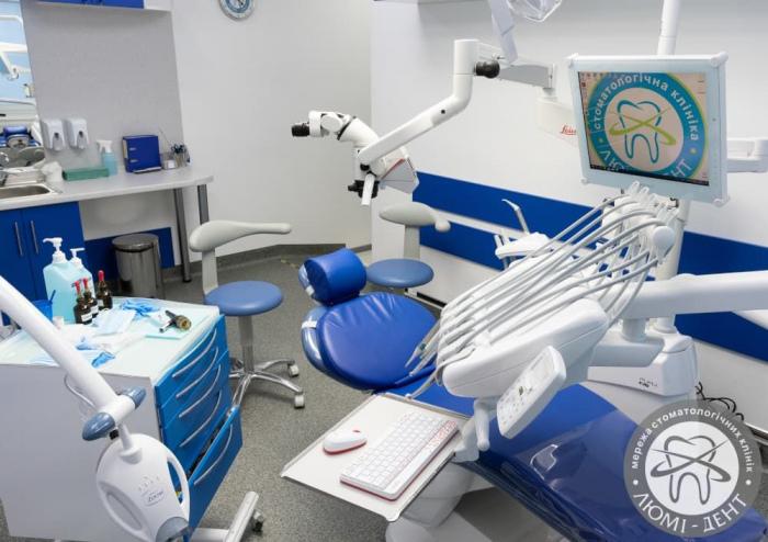 стоматологія на Печерську фото Київ ЛюміДент