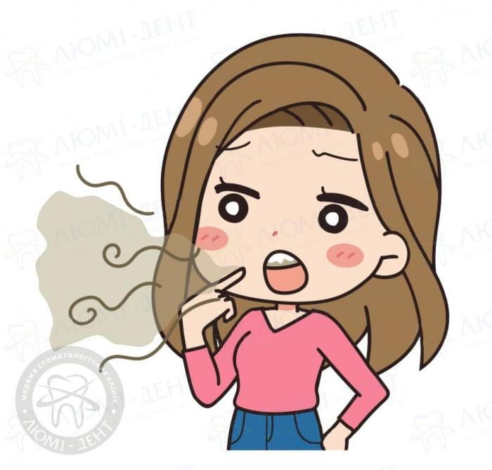 як прибрати запах ацетону з рота у дитини фото ЛюміДент