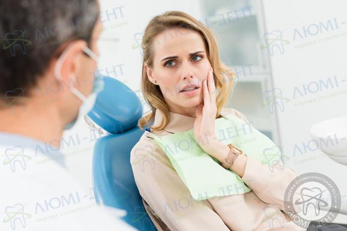 Зубний біль при вагітності фото ЛюміДент