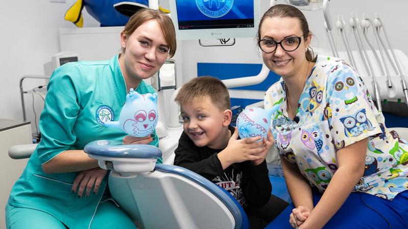 Чищення зубів у дитини фото Люмідент