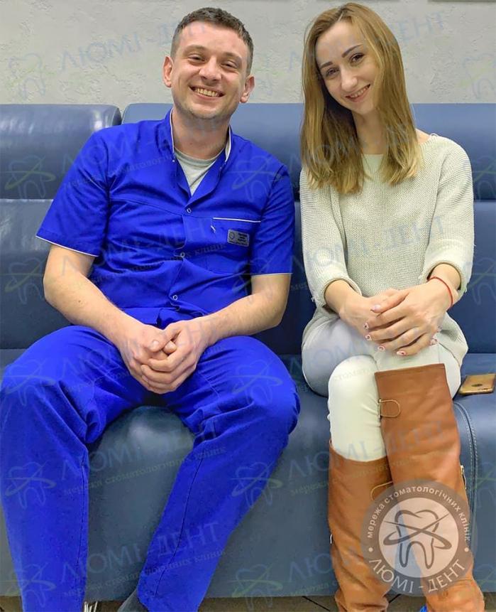 Лікування пародонтальної кишені фото Київ Люмі-Дент
