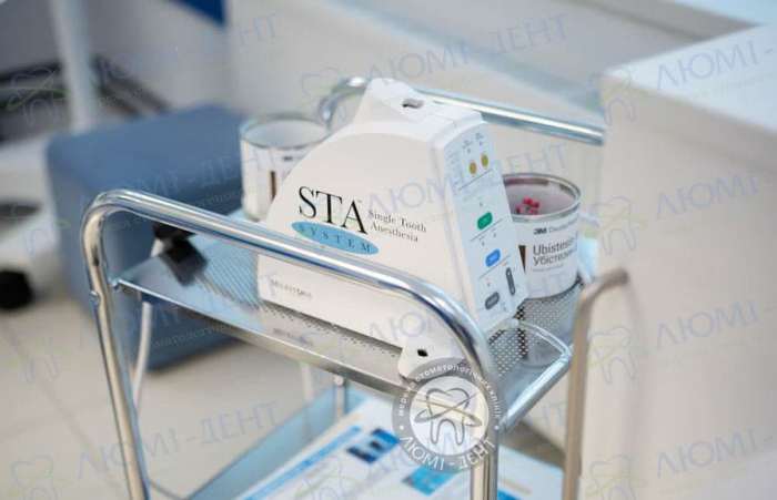 Лечение зубов во сне фото Люми-Дент