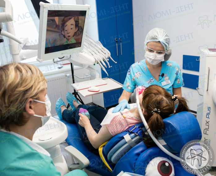 Видалення зуба дитині під наркозом фото Люмі-Дент