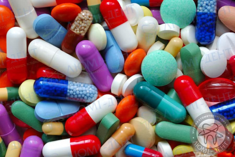 таблетки від зубного болю фото Люмідент