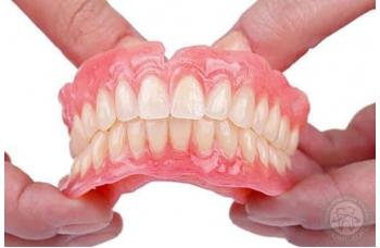 Зубной протез на один зуб фото Киев ЛюмиДент
