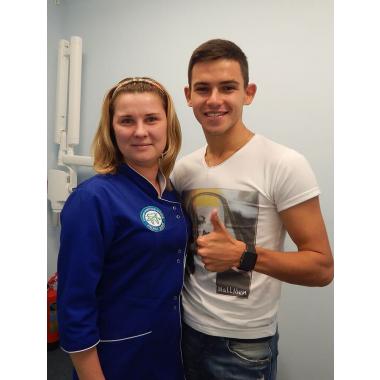 Нагирна Юлия Михайловна фото с врачом