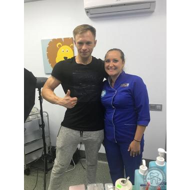 Фото с врачом Шаповалова И. В.