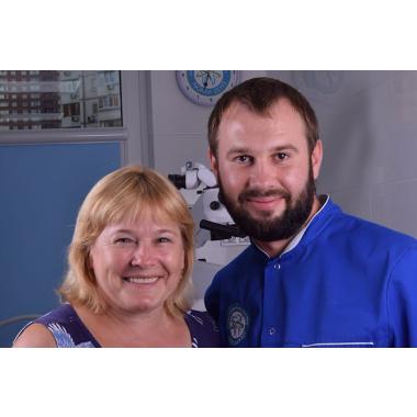 Фото с врачом Горин Д. В. Киев Люми-Дент