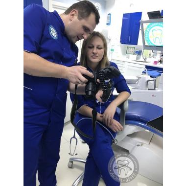 Фото с врачом анестезиологом Рябой Н.С.