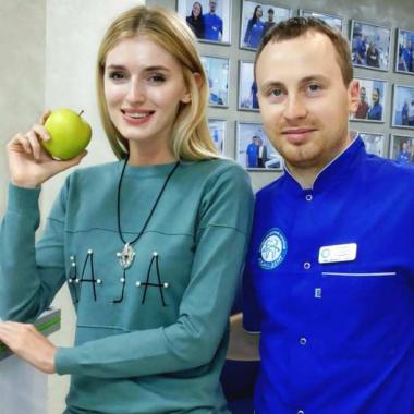Улыбка Глушко Алексей Сергеевич Люми-Дент Киев