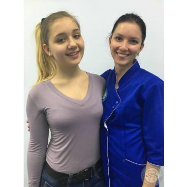 Фото с врачом Ковальчук Ю. С.