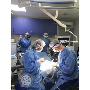 Фото с врачом анестезиологом Рябой Н.С. Люми-Дент