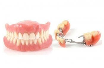 Съемные зубные протезы фото ЛюмиДент