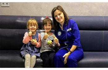 Лечение кариеса молочных зубов у детей Киев фото Люми-Дент